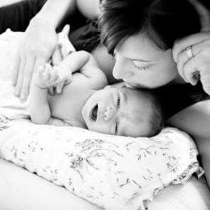 Fort Wayne newborn family